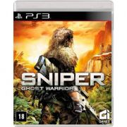 Jogo Sniper Ghost Warrior semi novo Ps3