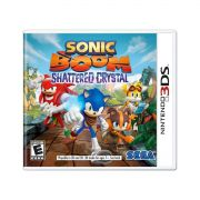 Jogo Sonic Boom Shattered Crystal semi novo 3ds