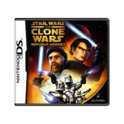 jogo Star War the Clone Wars Republic Heroes DS
