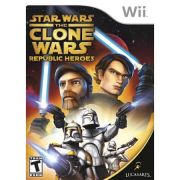 Jogo Star War the Clone Wars Republic Heroes Wii semi novo