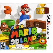 Jogo Super Mario 3D Lands semi novo 3ds