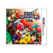 Jogo Super Smash Bros semi novo 3ds