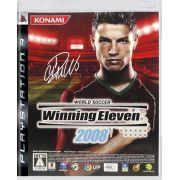 Jogo Winning Eleven 2008 semi novo Ps3