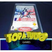 Jogo World Tour Soccer 2 London semi novo PSP
