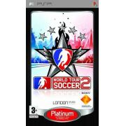 Jogo World Tour Soccer 2 London semi novo PSP