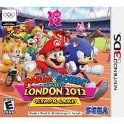 Mario & Sonic at the London 2012 Olympic Games 3Ds Seminovo