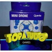 Mini Drone Quanta Qtpdr 2036 Com Controle Remoto Loja Bh