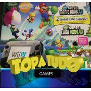 Nintendo Wii U Deluxe 32gb 5 Jogos Zelda Mario Kart Splatoon