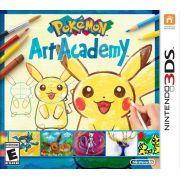 Pokémon Art Academy Novo Lacrado Nintendo 3ds Loja Bh
