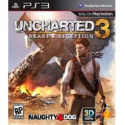 Uncharted 3 Drakes Deception Jogo Playstation 3 Ps3 Seminovo