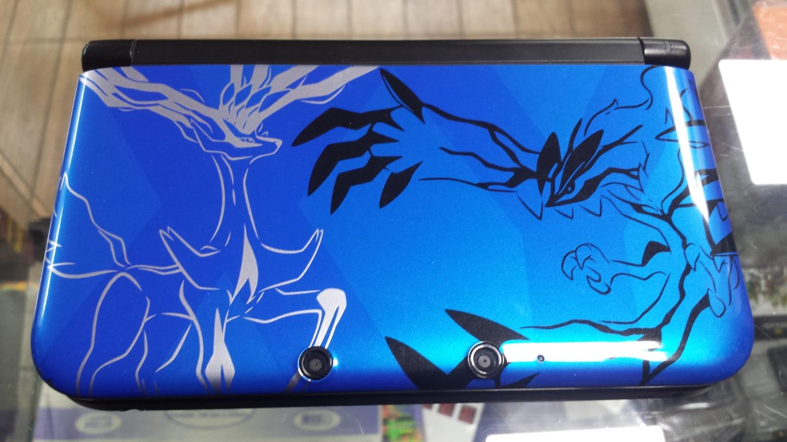 3DS XL Azul Edição Especial Pokemon X & Y