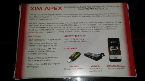 Xim Apex Adaptador Mouse E Teclado Original