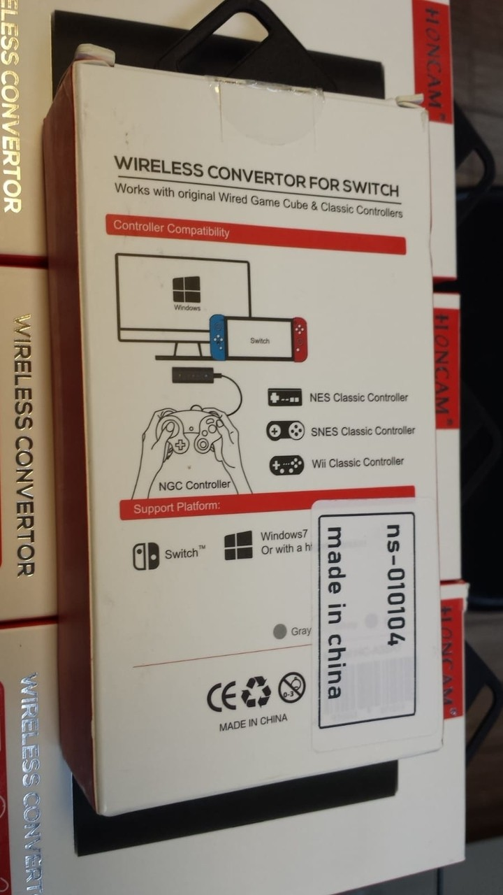 Adaptador Conversor Wireless para Switch