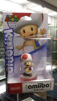 Amiibo Super Mario Toad novo