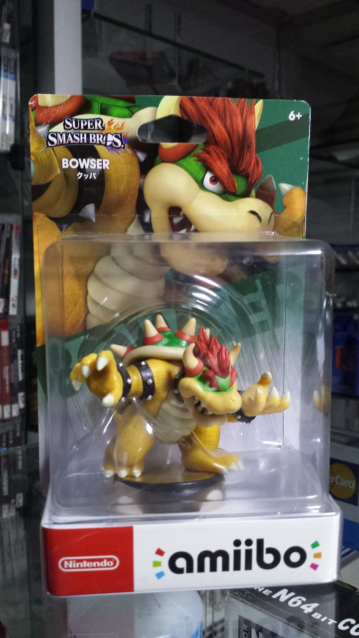 Amiibo Super Smash Bowser