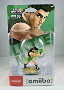 Amiibo Super Smash Bros Little Mac novo
