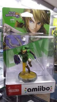 Amiibo Super Smash Link novo