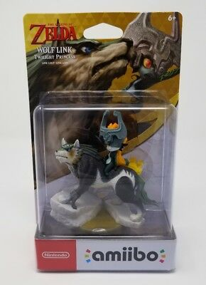 Amiibo the Legend of Zelda Wolf Link novo