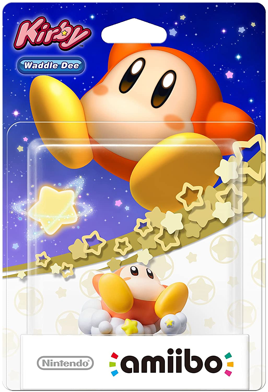 Amiibo Waddle Dee Kirby Star Allies novo