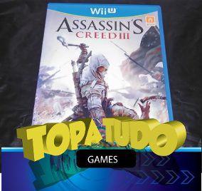 Assassin´s Creed 3 Jogo Nintendo Wii U Seminovo Loja Bh