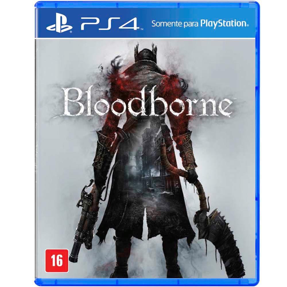 Bloodborne Jogo Ps4 Playstation 4 Mídia Física Loja Bh