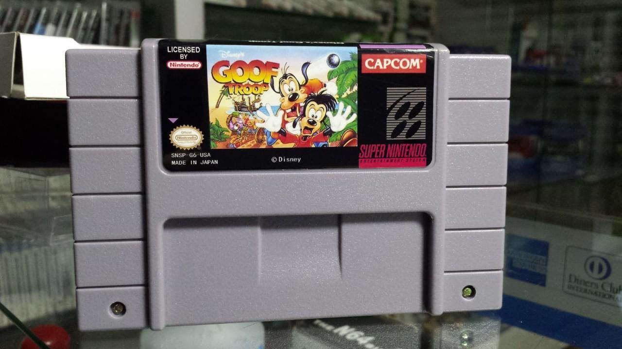 Cartucho Super Nintendo Goof Troop