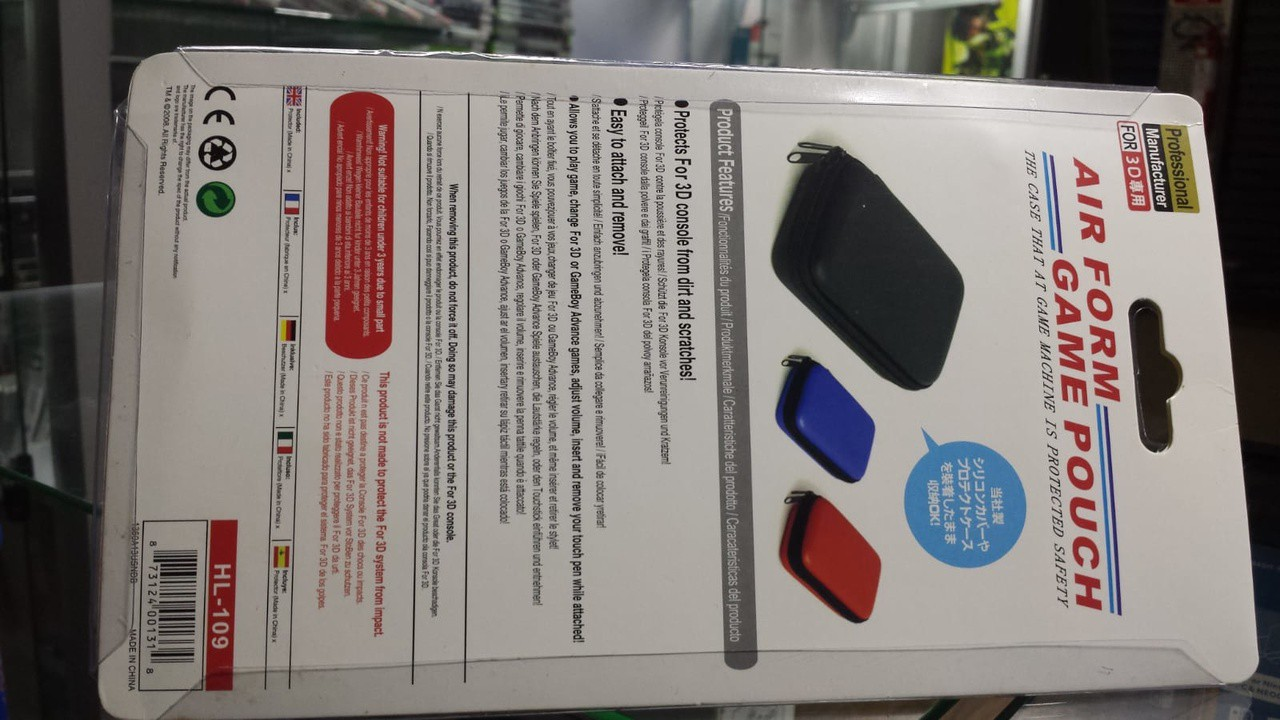 Case para Transporte Nintendo 3Ds novo