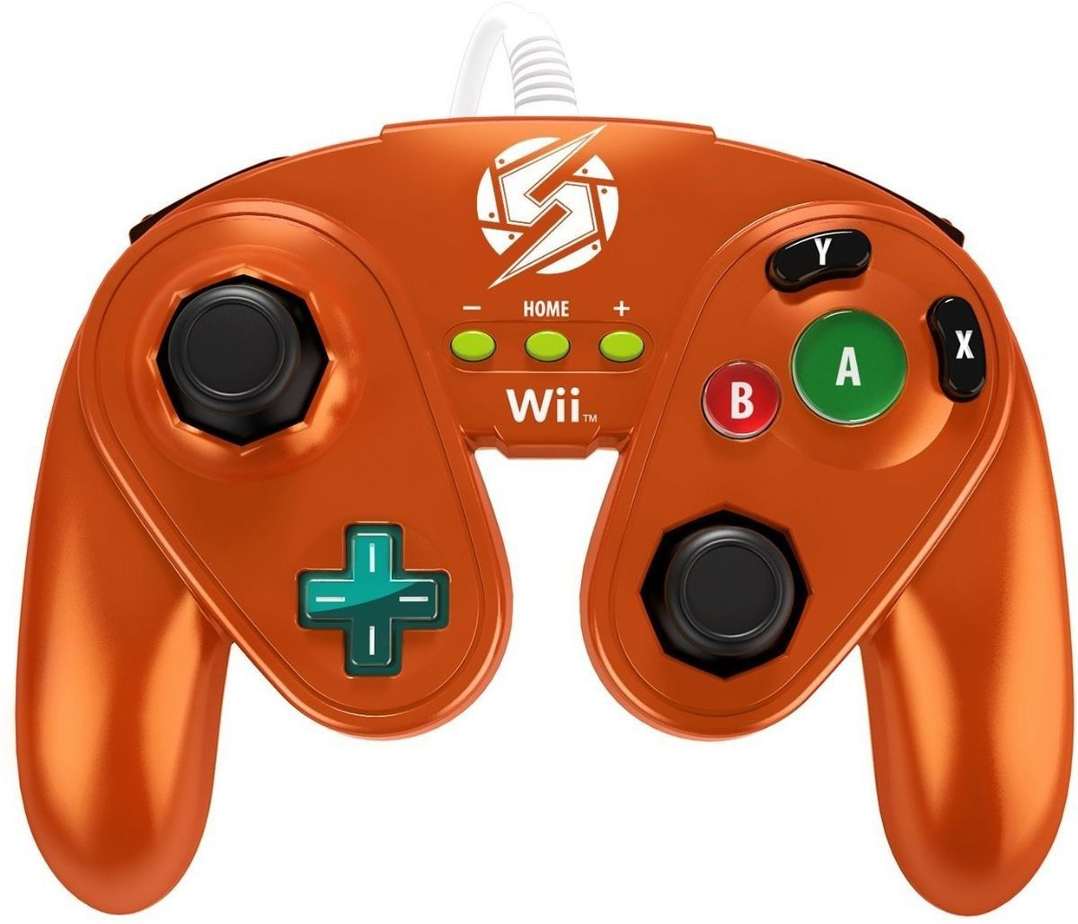 Controle Wired Samus Metroid Fight Pad  Wii/wii U