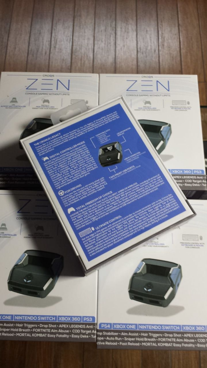 Cronus Zen Adaptador Conversor Ps4  Ps3 Xbox One Sx Switch