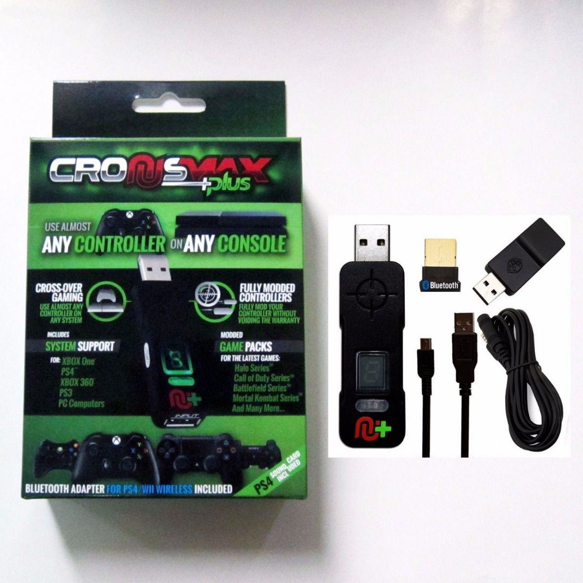 Cronusmax Plus Adaptador Multi Controle Cronus Max semi novo