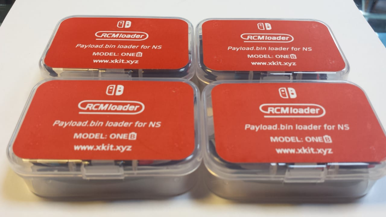 Desbloqueio para Nintendo Switch RCM Loader
