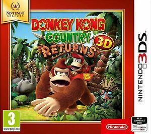Donkey Kong Country 3d Returns Nintendo 3ds