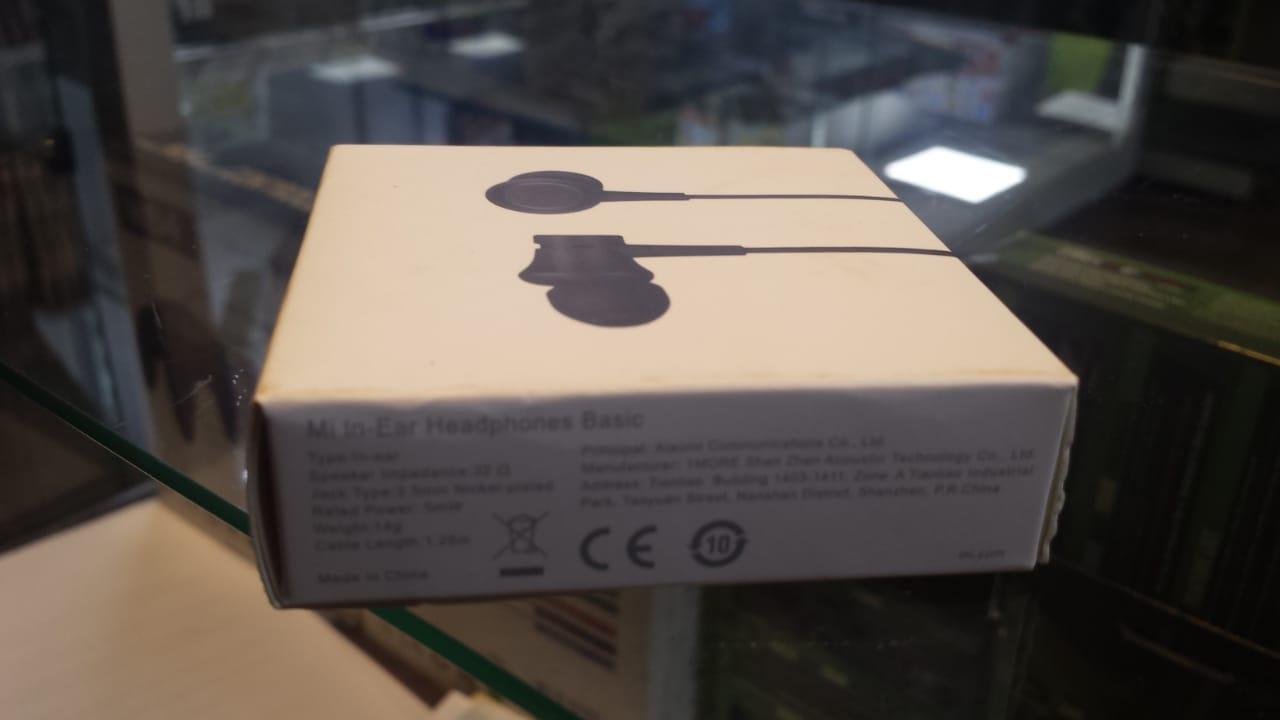 Fone  Xiaomi Mi in Ear Headphones Basic Original