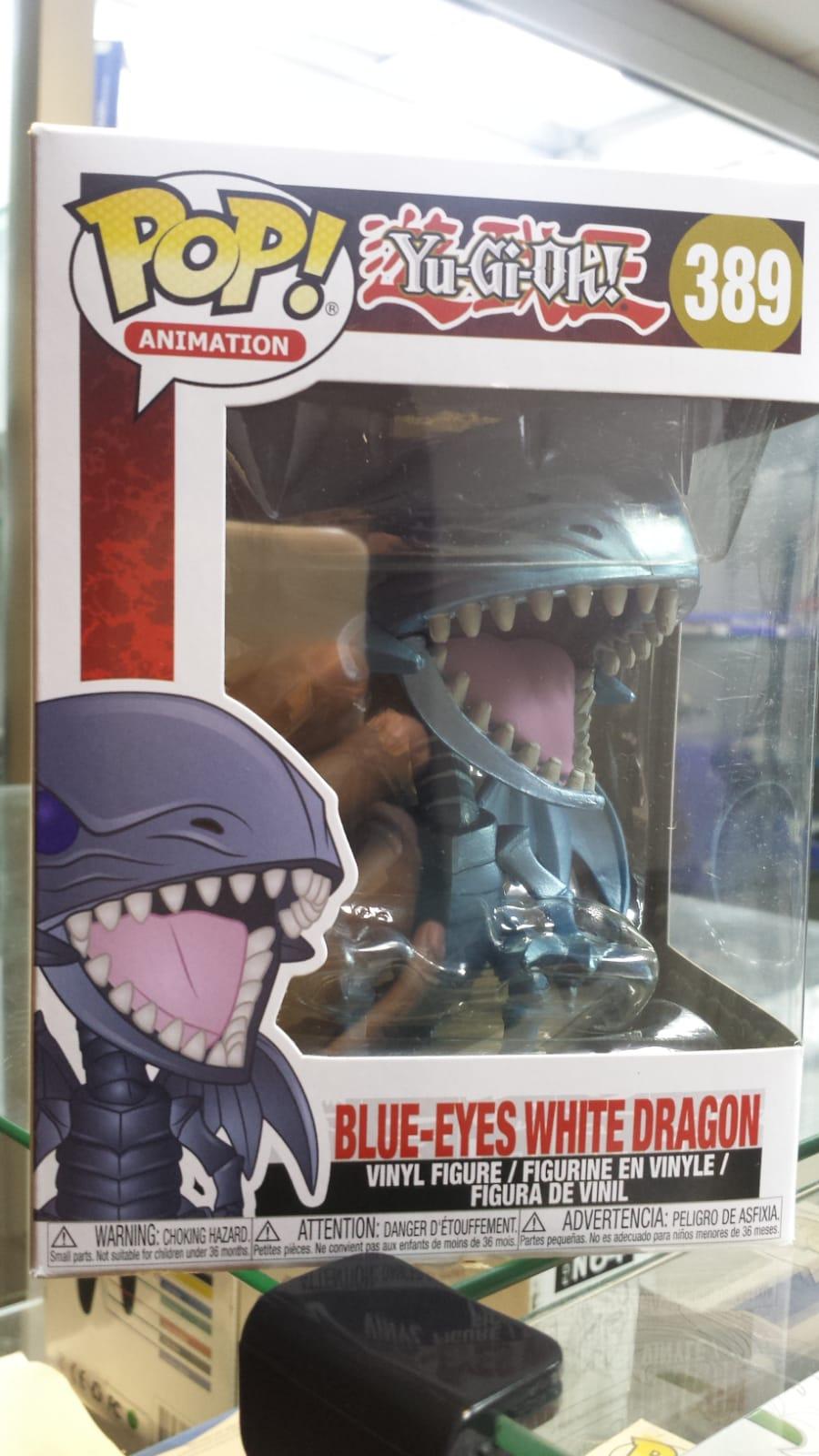 Funko Pop Blue Eyes White Dragon novo