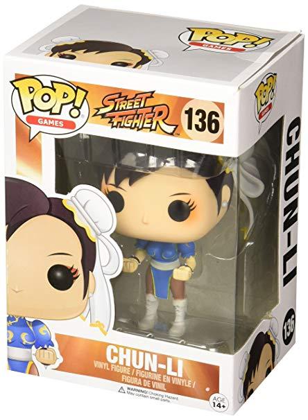 Funko Pop Chun Li Street Fighter Bonecos Miniaturas Bh Loja