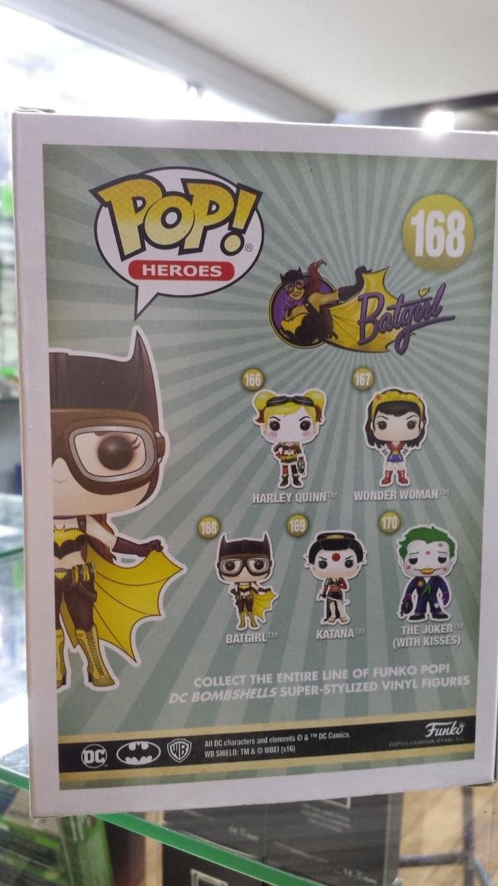 Funko Pop DC Comics Bombshells Batgirl