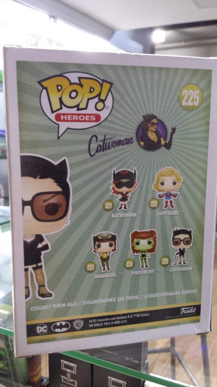 Funko Pop DC Comics Bombshells Catwoman