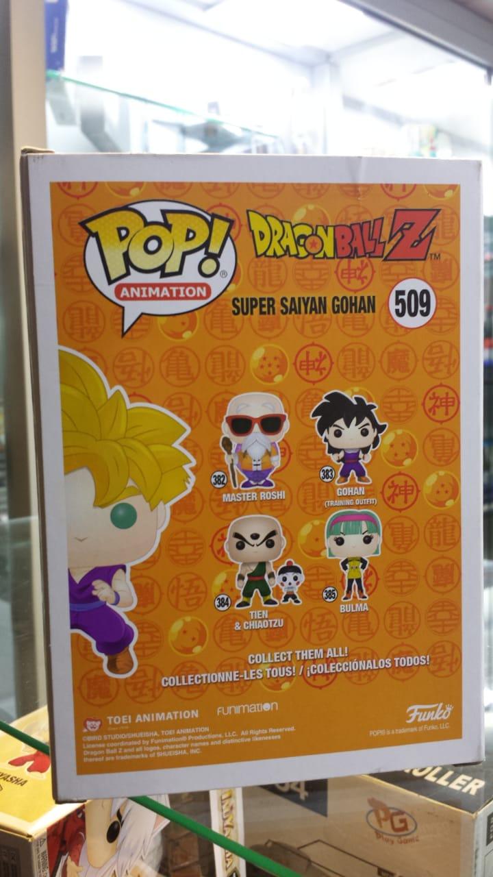 Funko Pop Dragon Ball Super Saiyan Gohan