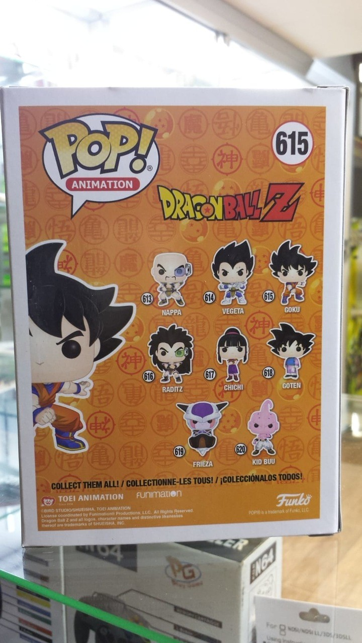 Funko Pop Dragon Ball Z Goku