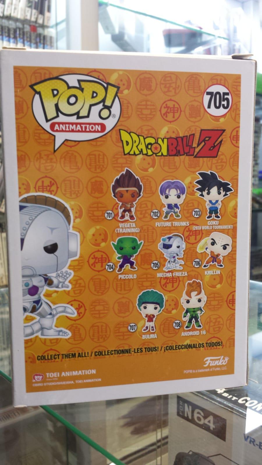 Funko Pop Dragon Ball Z Mecha Frieza