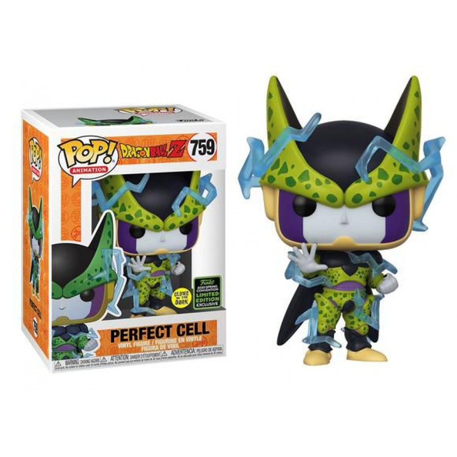 Funko Pop Dragon Ball Z Perfect Cell Ediçao Limitada