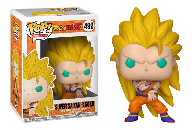 Funko Pop  Dragon Ball Z Super Saiyan 3 Goku
