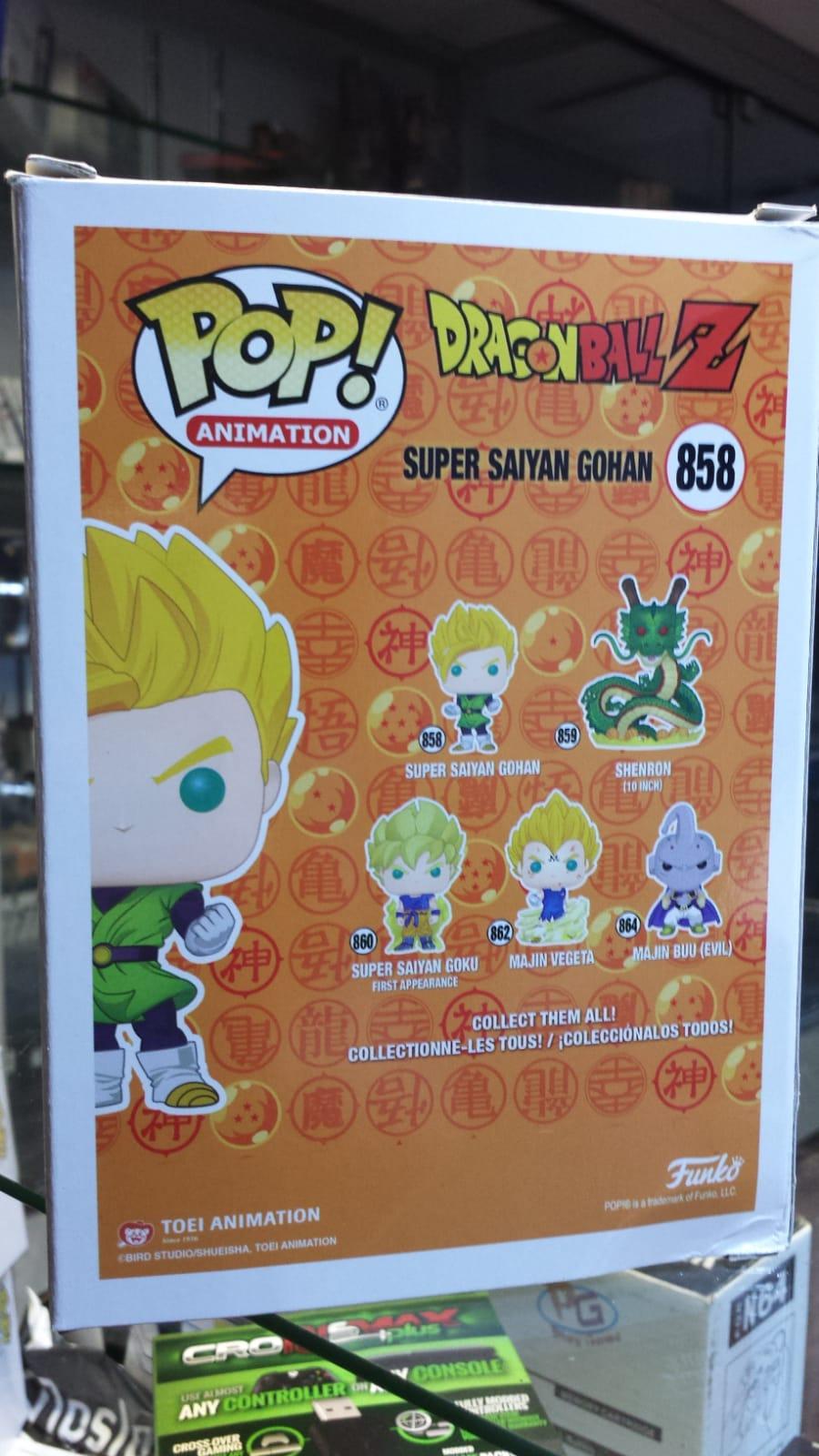 Funko Pop Dragon Ball Z Super Saiyan Gohan