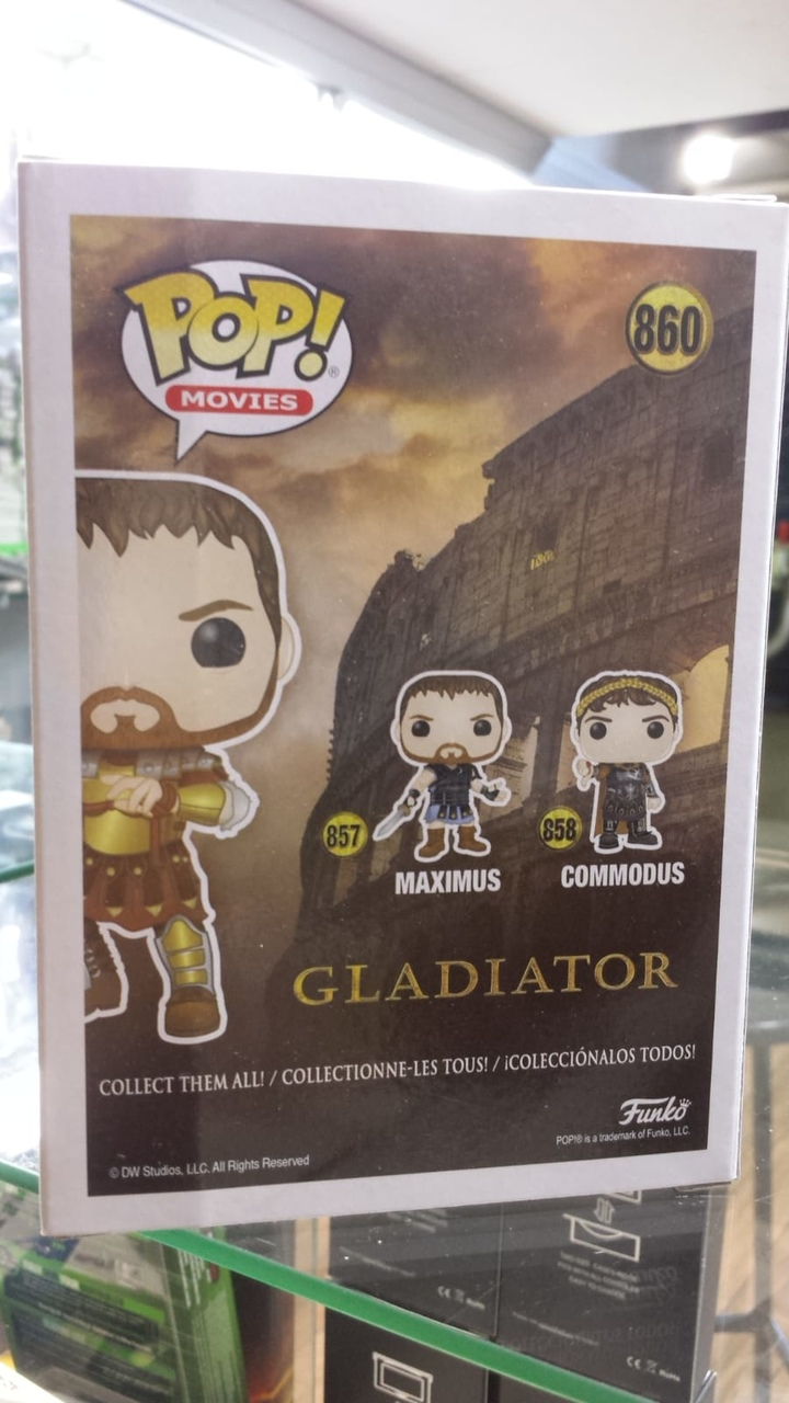 Funko Pop Gladiator Maximus Ediçao Especial