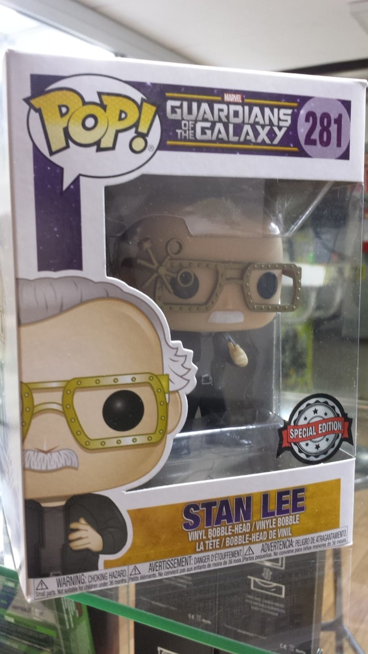 Funko Pop Guardians of the Galaxy Stan Lee Ediçao Especial