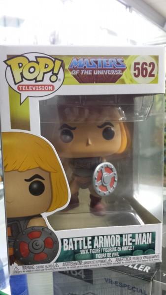 Funko Pop He-man Battle Armor Master of the Universe