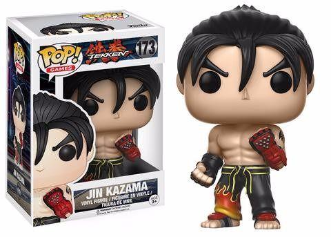 Funko Pop Jin Kazama Tekken Bonecos Miniaturas