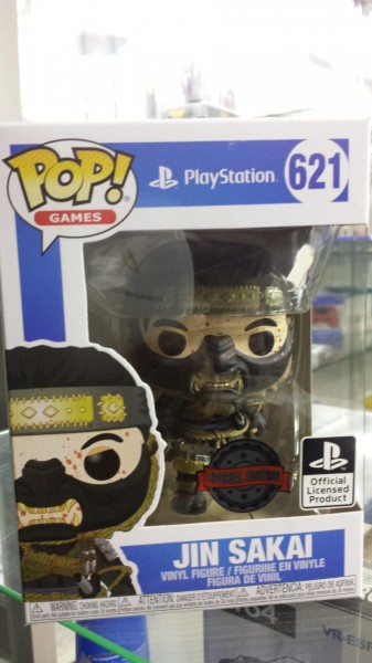 Funko Pop Jin Sakai Ghost of Tsushima