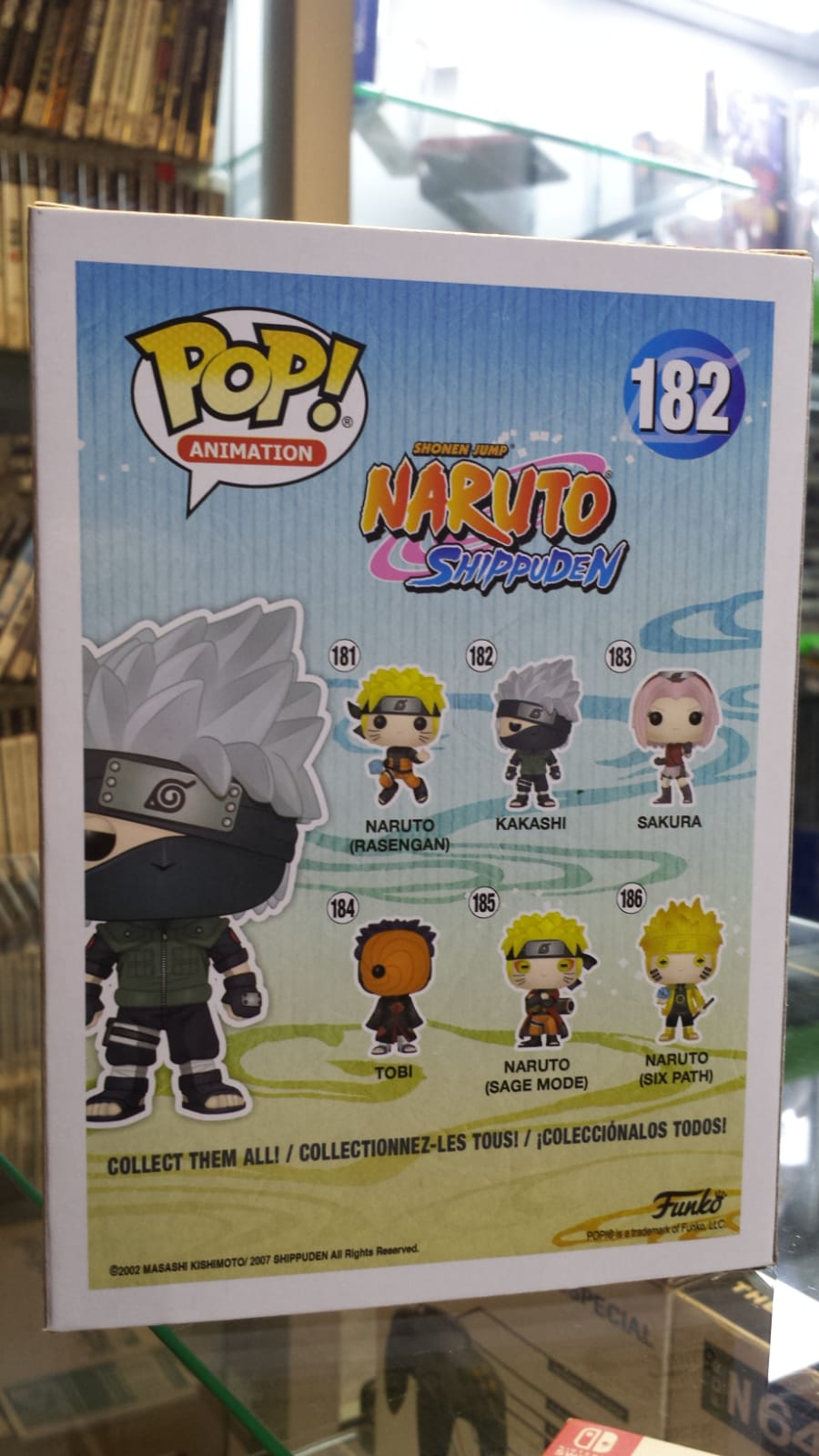 Funko Pop Kakashi Naruto Bonecos Miniaturas Bh Loja