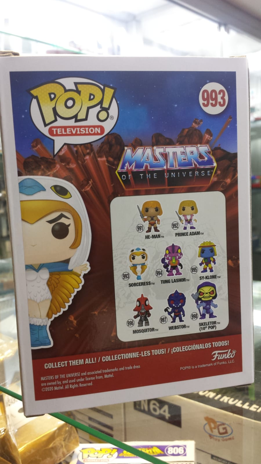 Funko Pop Master of the Universe Sorceress Feiticeira
